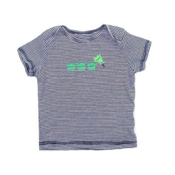 🔆3/$15 Carter's Striped T-Shirt, Size 6-9 Months